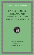 Early Greek Philosophy I