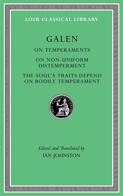 Galen, On Temperaments.