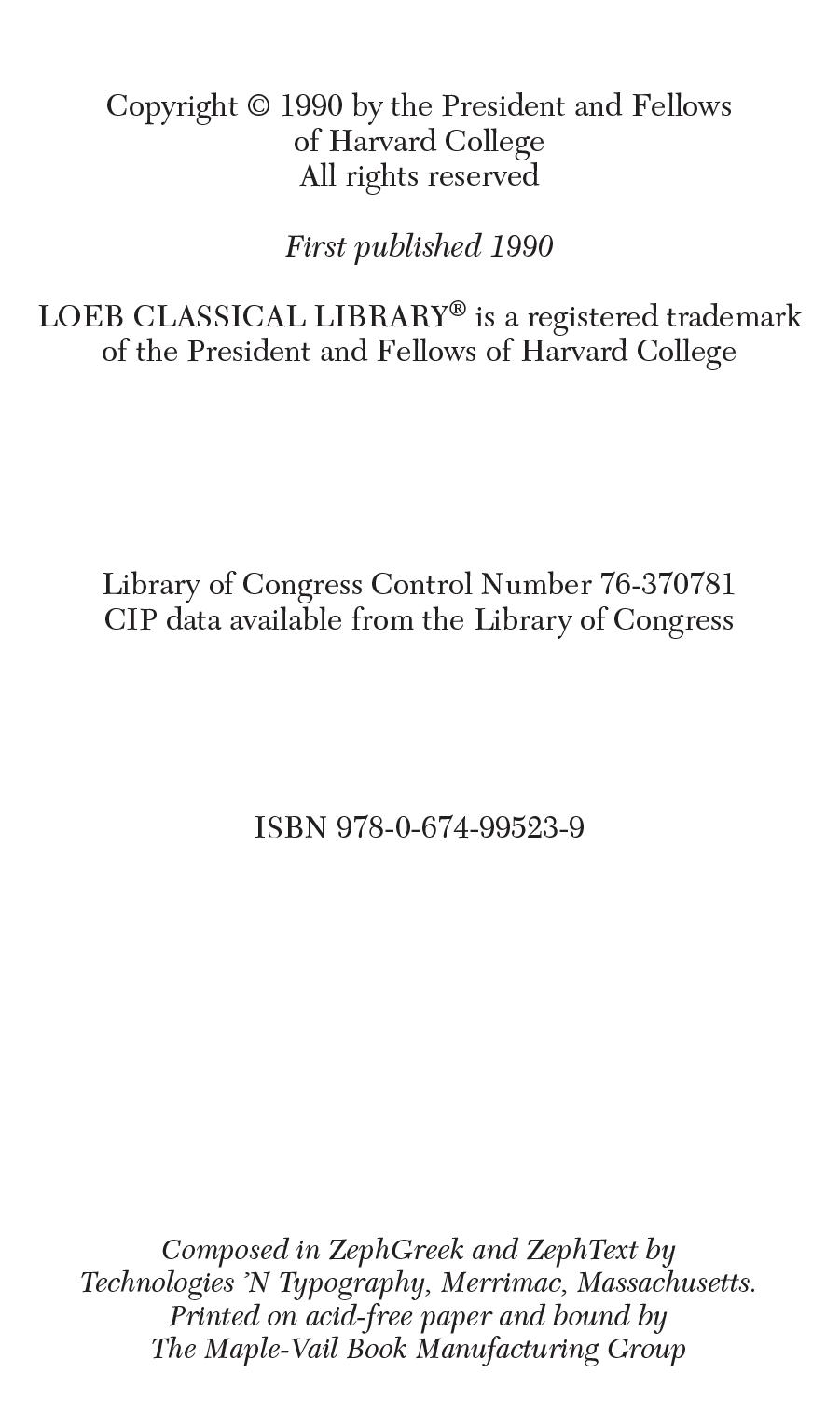 Books 5-6 De Causis Plantarum Volume III